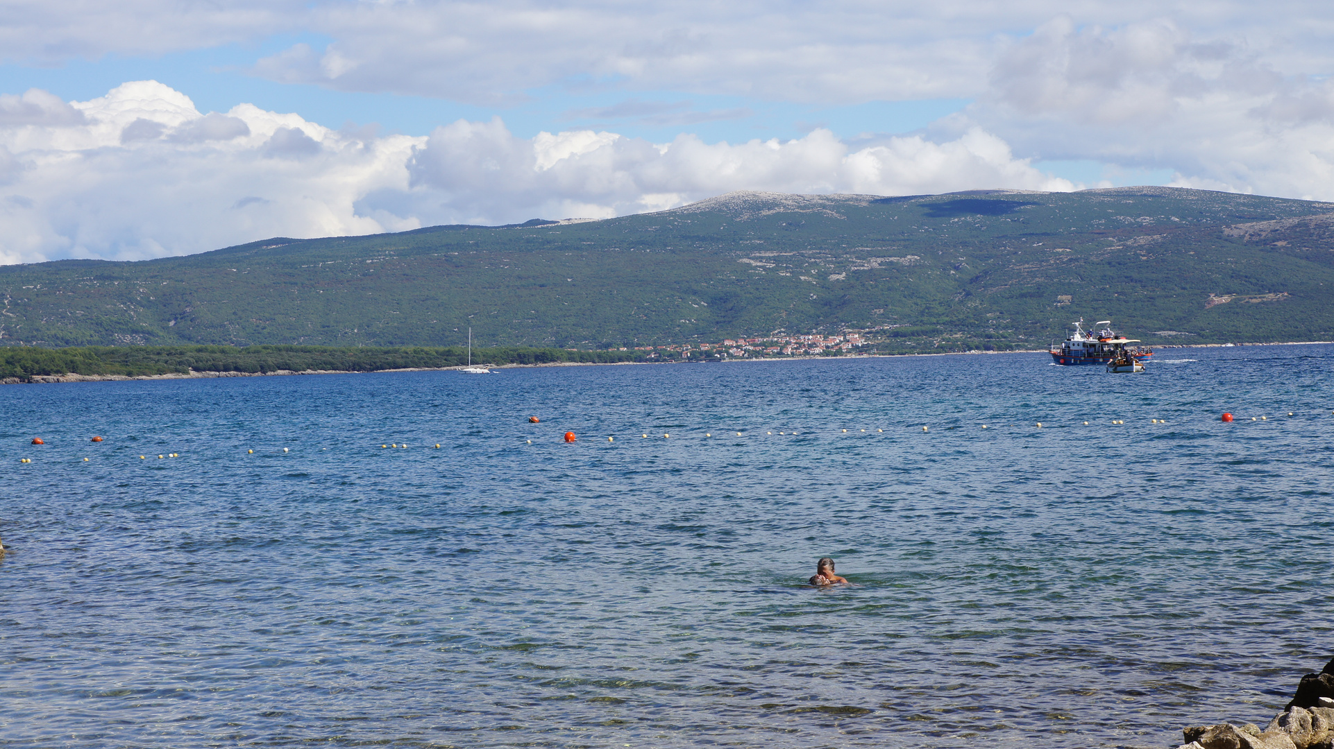 Blick auf Punat (Insel Krk)