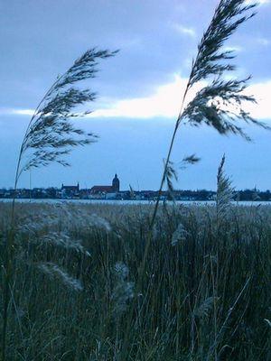 Blick auf Ribnitz-Damgarten