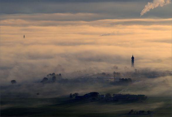 Blick auf Salzburg - nicht Toscana
