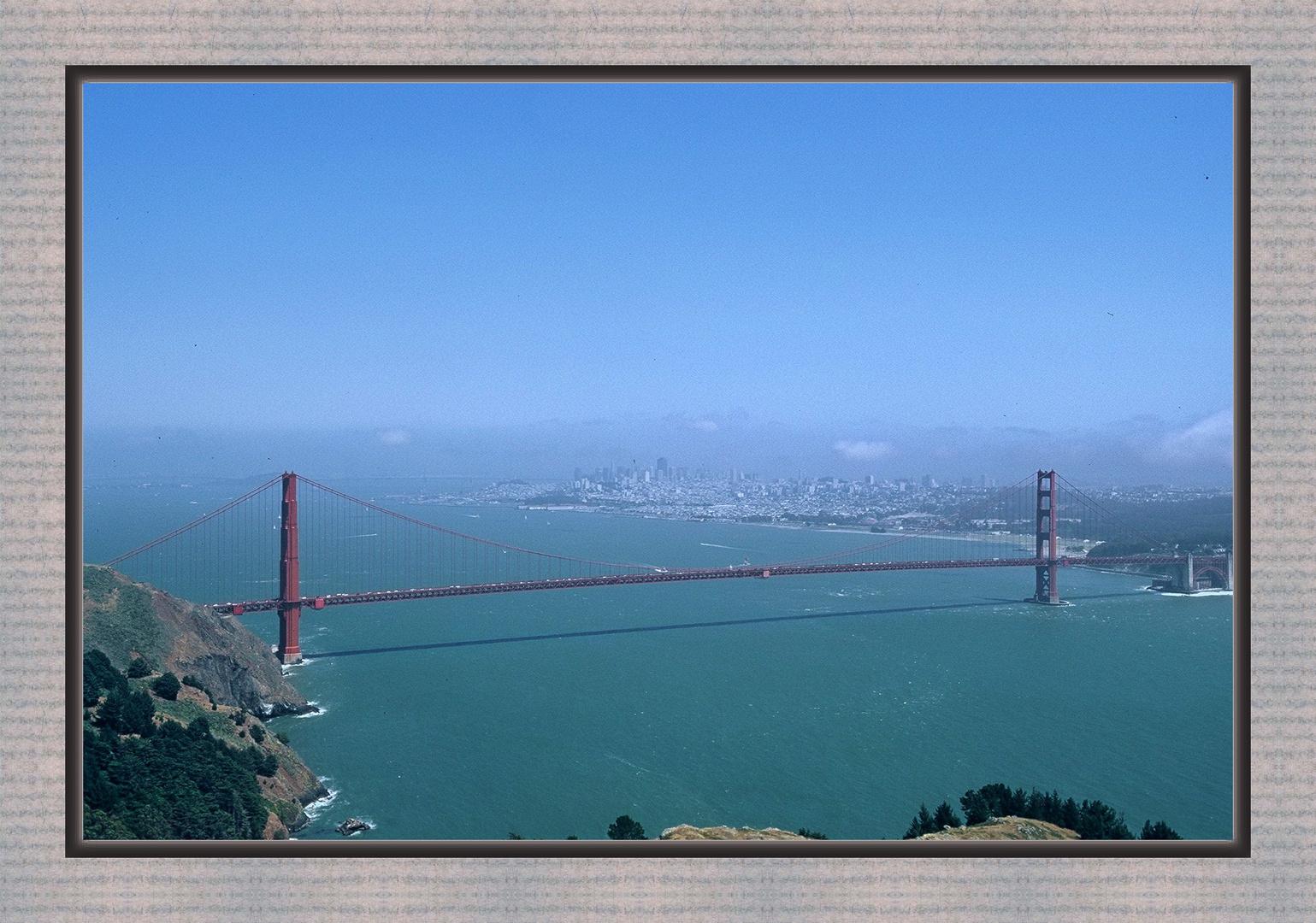 Blick auf San Francisco...
