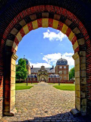 Blick auf Schloss Ahaus.