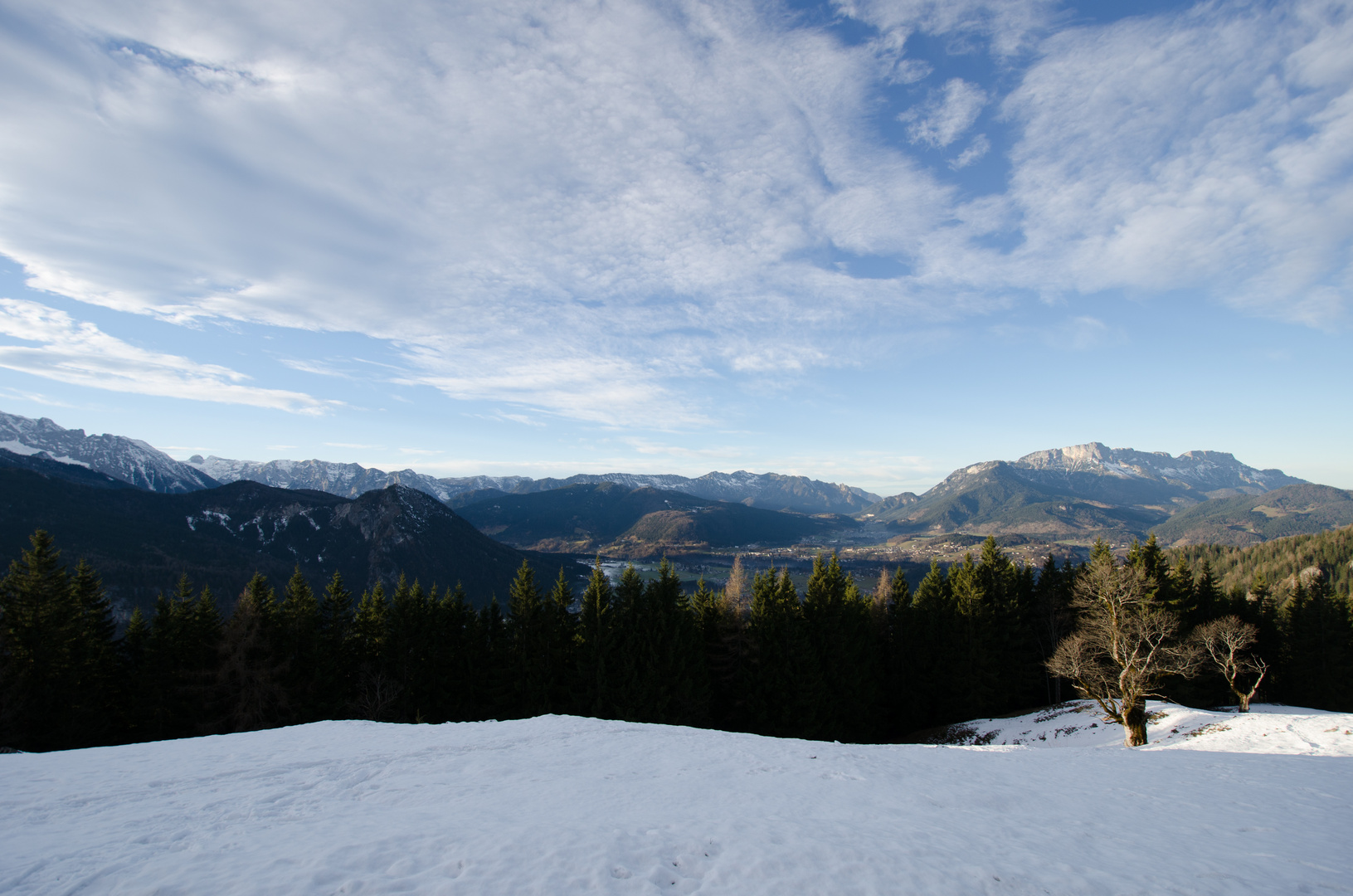 Blick auf Schönau am Königssee