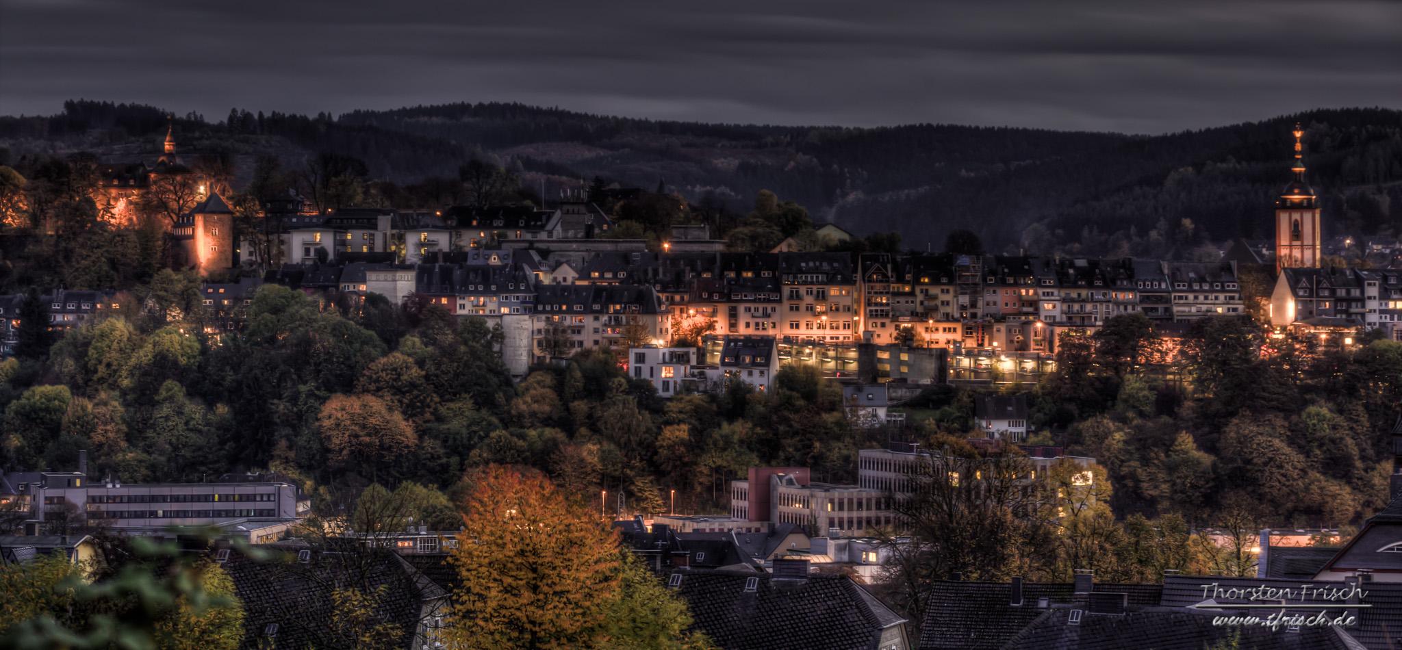 Blick auf Siegen Altstadt