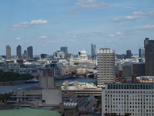 Blick auf St. Paul's vom London Eye