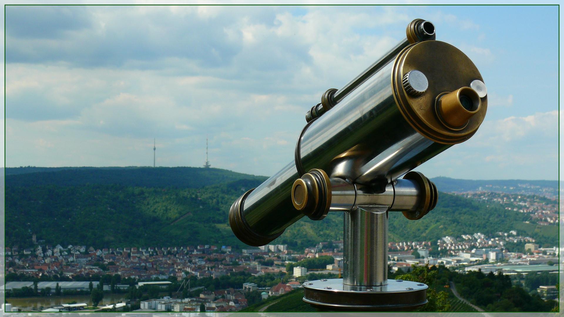 Blick auf Stuttgart-Wangen
