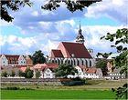 Blick auf Torgau ...