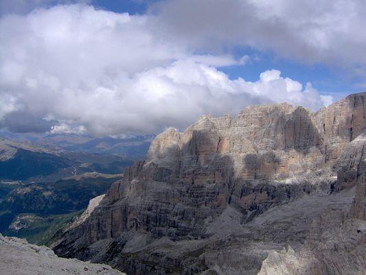 blick auf torre di brenta