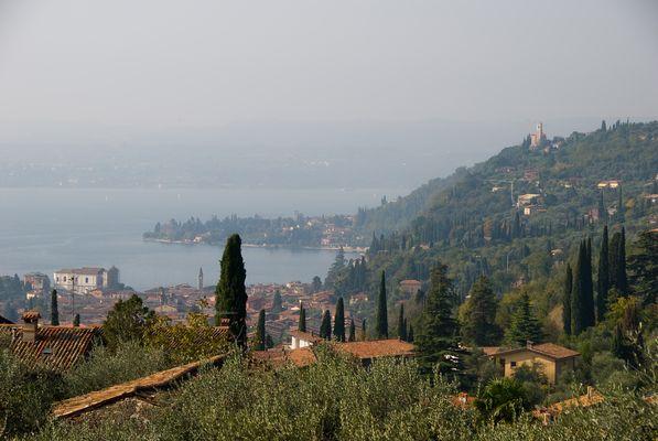 Blick auf Toscolano Maderno