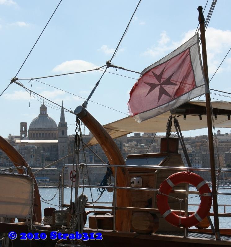 Blick auf Valletta - Malta