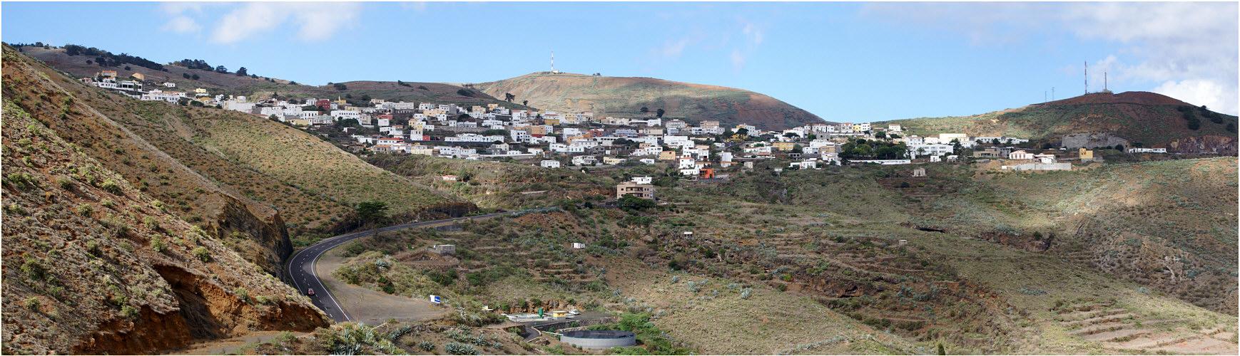 Blick auf Valverde - El Hierro