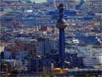 Blick auf Wien mit Fernwärme