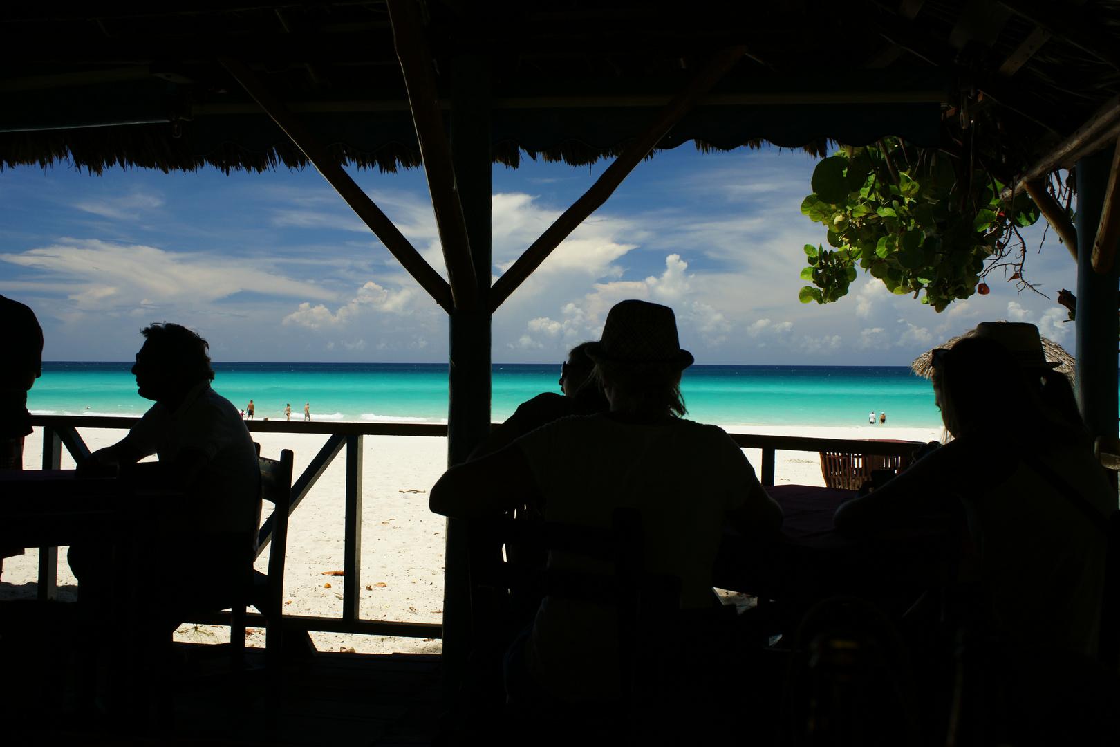 Blick aufs Carribianmeer