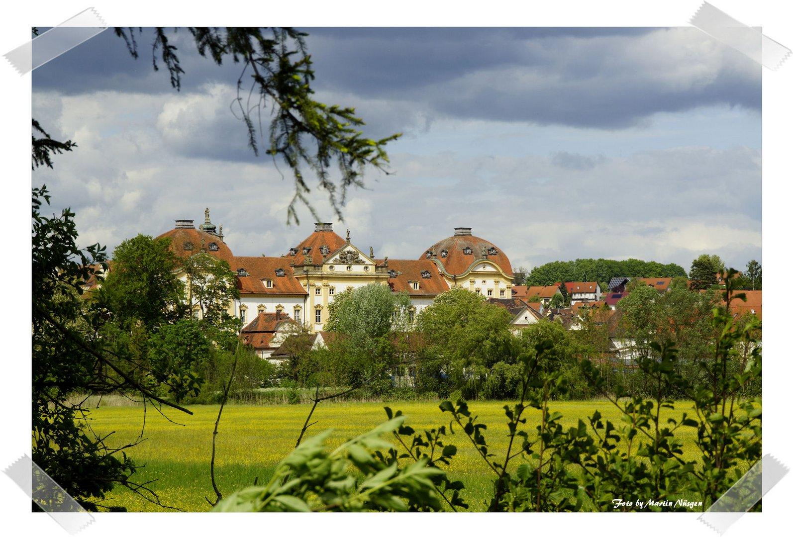 Blick aufs Deutschordenschloss Ellingen
