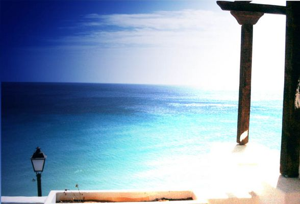 Blick aufs Meer, bei Jandia