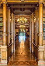 Blick aus dem Bücherzimmer