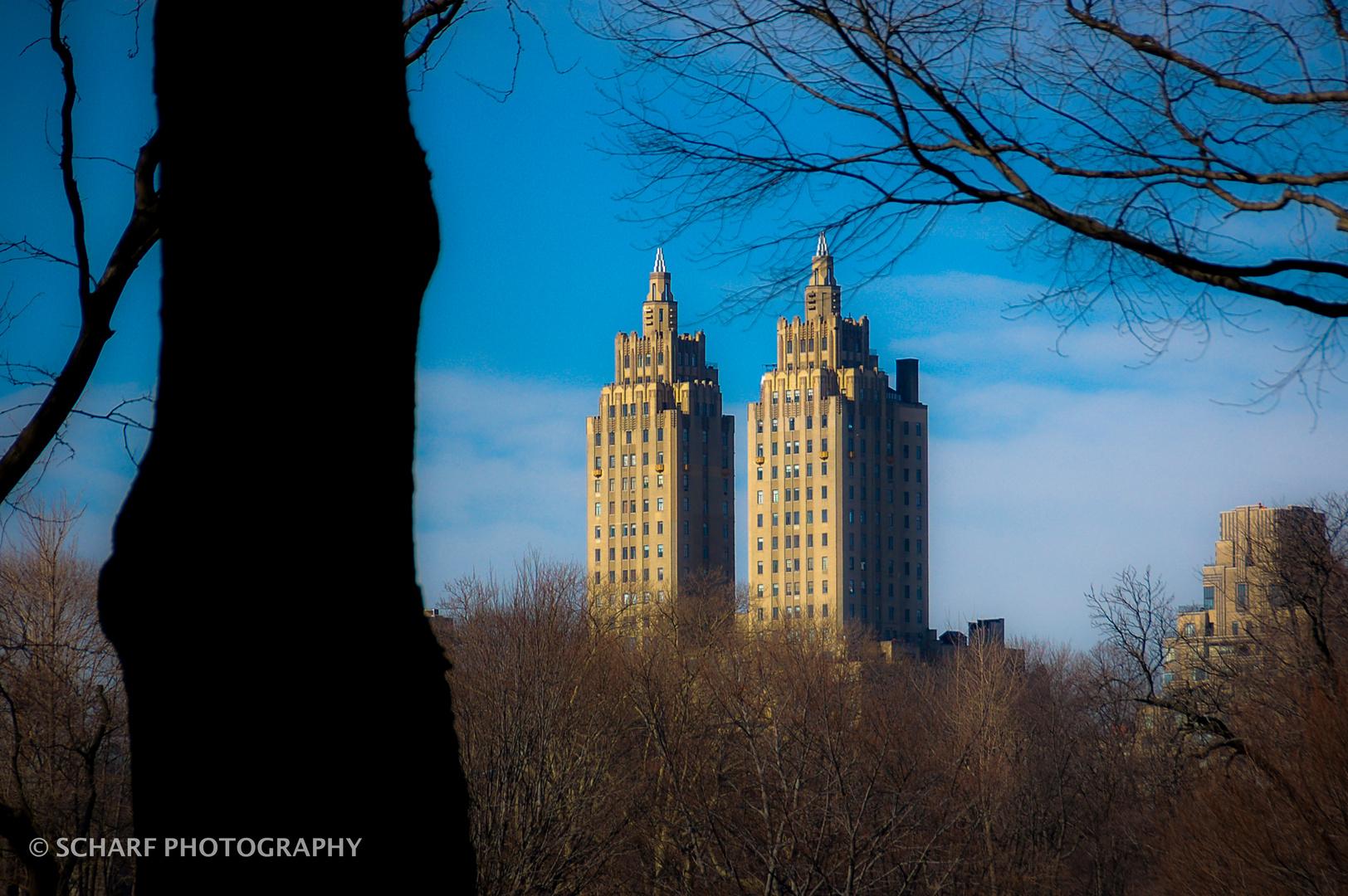 "Blick aus dem ""central park"" NEW YORK"