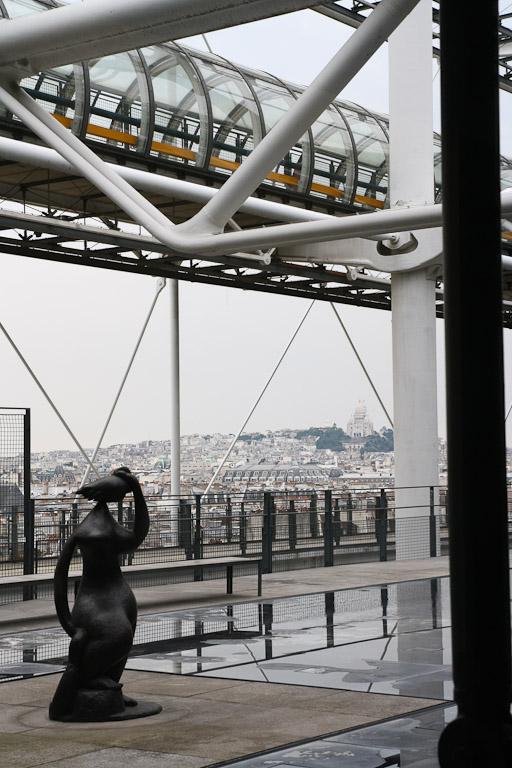 Blick aus dem Centre Pompidou