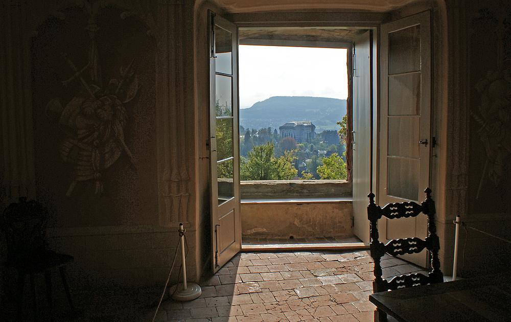 Blick aus dem fenster bilder  Blick aus dem Fenster Foto & Bild | europe, schweiz ...