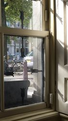 Blick aus dem Fenster im Museum voor Fotografie, Amsterdam