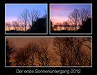 Blick aus dem Fenster in den Oldenburger Himmel