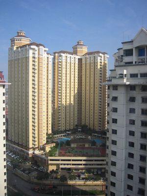 Blick aus dem Fenster - Kemayoran/Jakarta