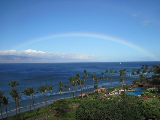 Blick aus dem Hotelzimmer Maui/Hawaii