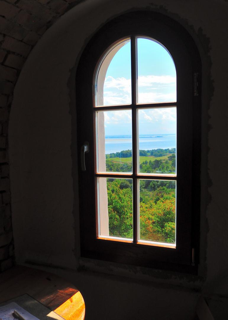 Blick aus dem Leuchtturm Dornbusch