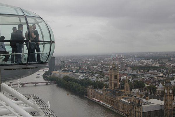 Blick aus dem London Eye