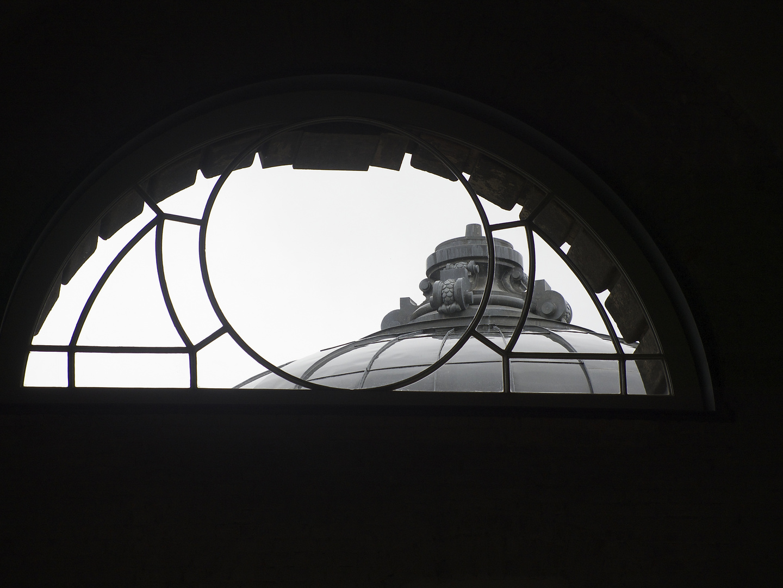 Blick aus der Kunsthalle im Lipsiusbau