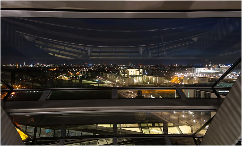 Blick aus der Reichstagskuppel