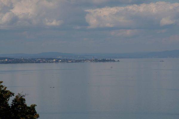 Blick aus der Schweiz auf den Bodensee