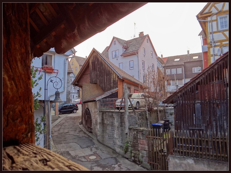 Blick aus der Stadtmauer