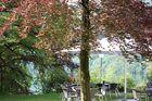 Blick aus Gästehauszimmer am Schliersee