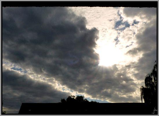 Blick aus meinem Fenster am Morgen