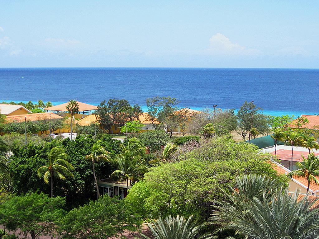 Blick aus meinem Hotel...