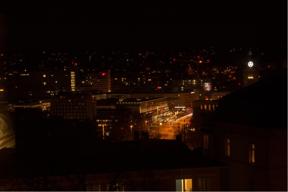 Blick aus unserem Fenster der Jugendherberge