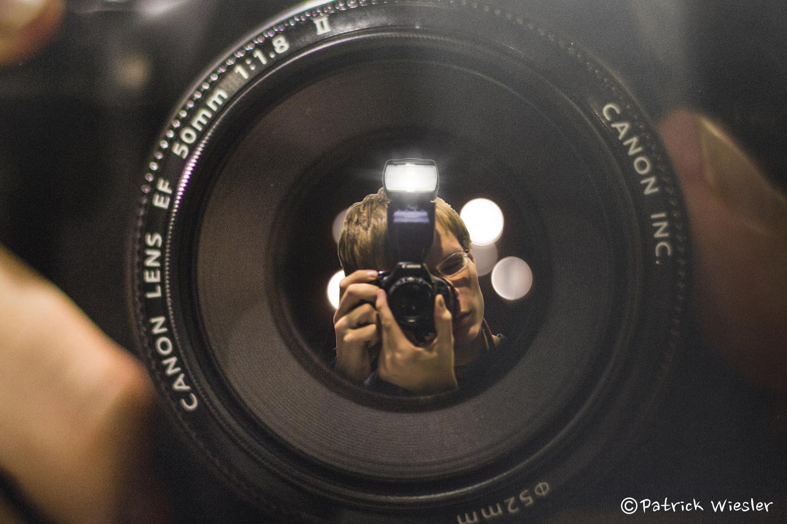 Blick des Fotografen