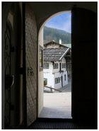 Blick durch die Tür