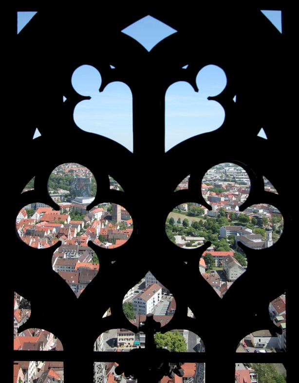 Blick durchs Ulmer Münster