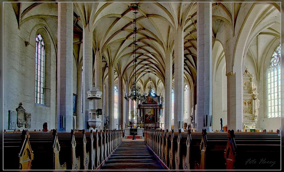 Blick in den Dom St.Petri in Bautzen.