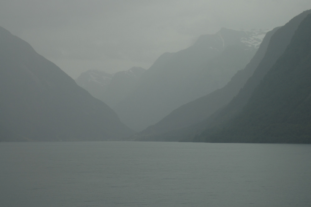 Blick in den Fjaerlandsfjorden