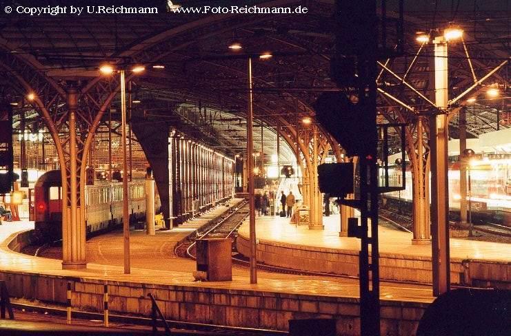 Blick in den Kölner HBf.