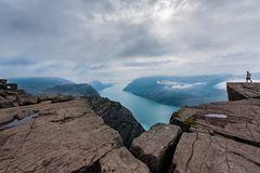 Blick in den Lysefjord