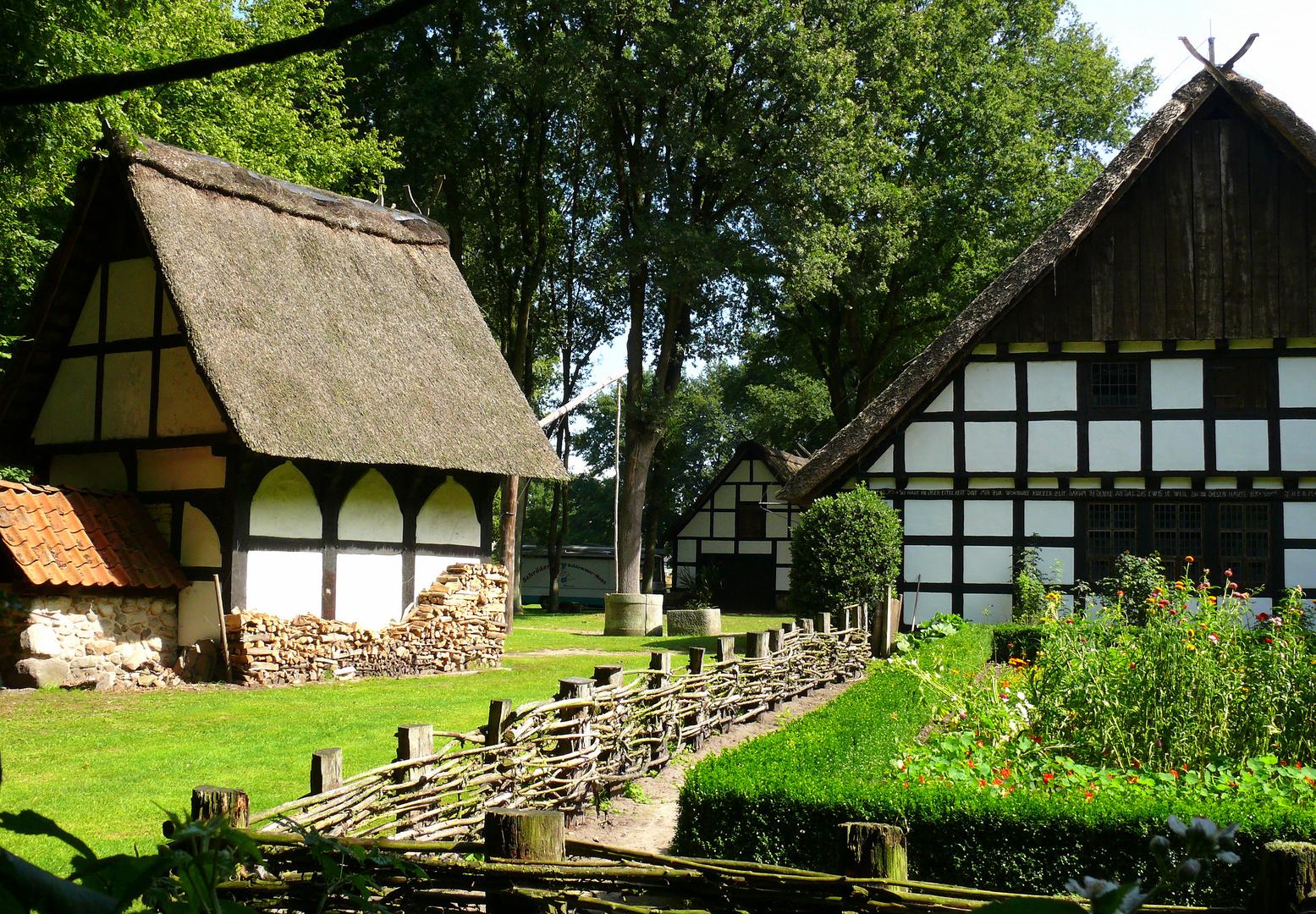 Blick in den Museumshof Rahden,