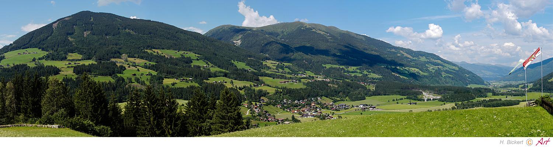 Blick in den Pinzgau