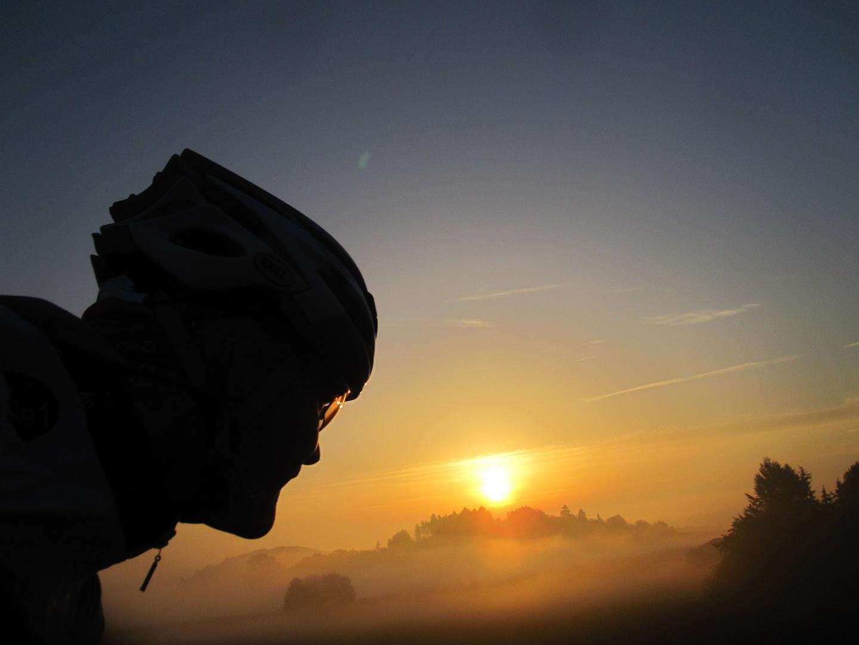 Blick in den Sonnenaufgang