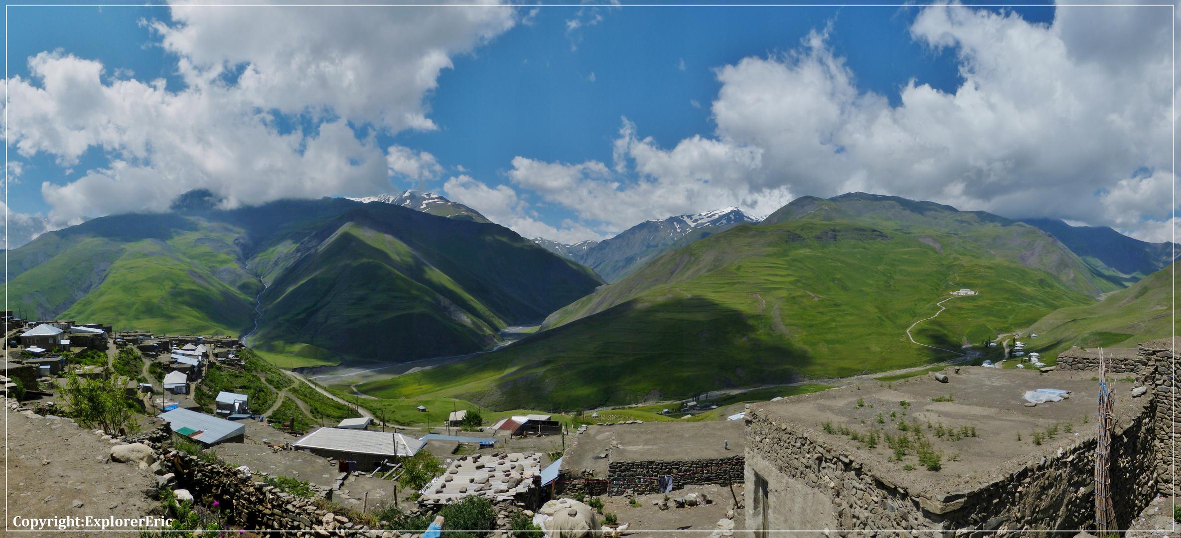 Blick in den südlichen Kaukasus................