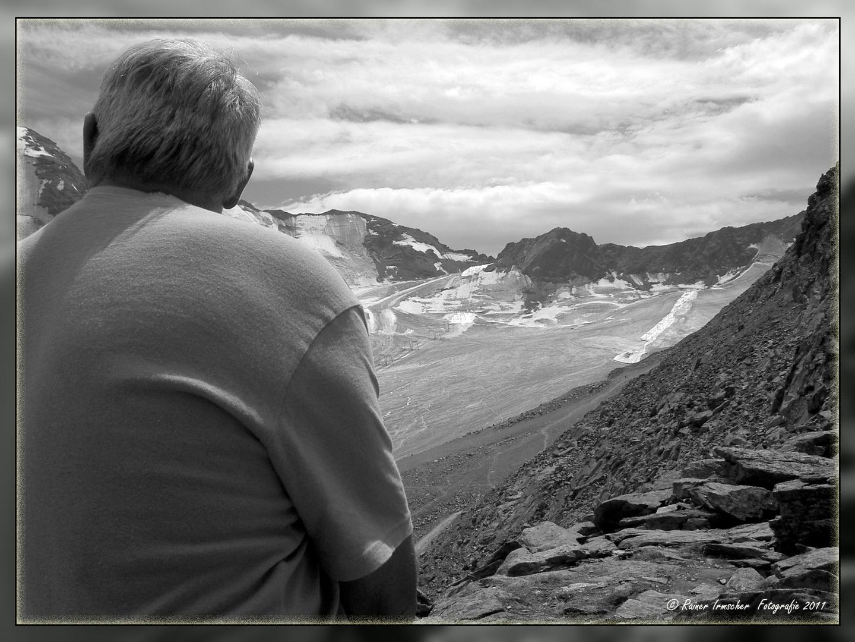 Blick in die Bergwelt...
