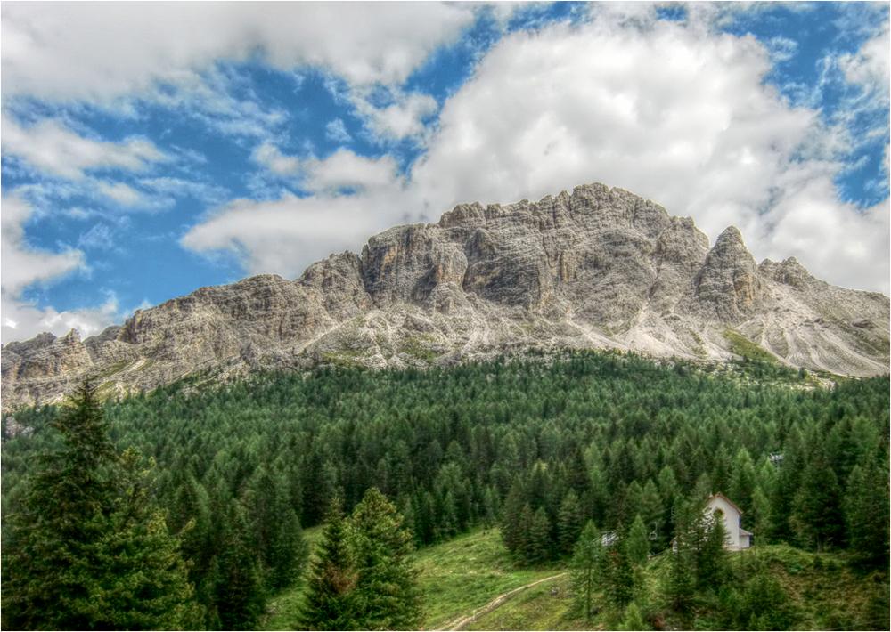 Blick in die Dolomiten (4)