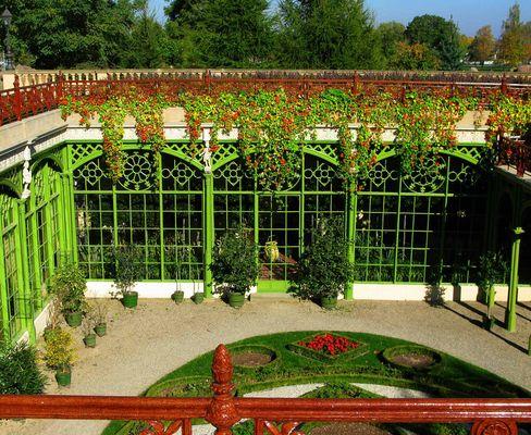 Blick in die Orangerie